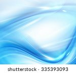 abstract blue background ... | Shutterstock . vector #335393093