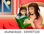 a vector illustration of mother ... | Shutterstock .eps vector #335407133
