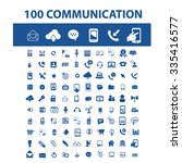 communication  connection ...   Shutterstock .eps vector #335416577