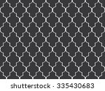 seamless black and white... | Shutterstock .eps vector #335430683