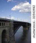 Eads Bridge In St. Louis  Mo