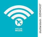 airplane mode  design  vector... | Shutterstock .eps vector #335445437