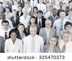 business people audience team... | Shutterstock . vector #335470373