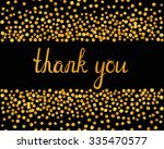 thank you inscription with... | Shutterstock .eps vector #335470577