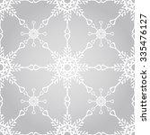 vector seamless winter pattern... | Shutterstock .eps vector #335476127