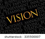 vision word cloud  business