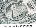us dollar closeup macro   Shutterstock . vector #335532377