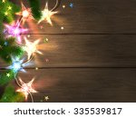 christmas and new year design... | Shutterstock .eps vector #335539817