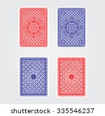 playing cards back