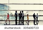 business people meeting... | Shutterstock . vector #335600723