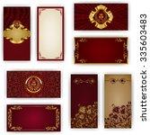 set of elegant template for vip ...   Shutterstock .eps vector #335603483