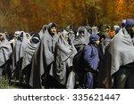 sentilj  slovenia   3 november...   Shutterstock . vector #335621447