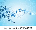 medical background forms of the ... | Shutterstock .eps vector #335644727