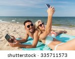 love  travel  tourism ... | Shutterstock . vector #335711573