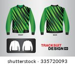 green and black tracksuit... | Shutterstock .eps vector #335720093