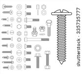 Screw Nut Set Drawing