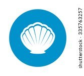 Shell Icon Vector.