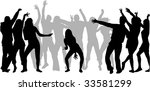 just dance 1 | Shutterstock .eps vector #33581299