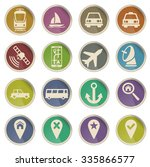 navigation simply vector icon... | Shutterstock .eps vector #335866577