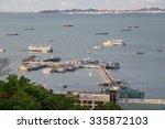 pattaya wharf with panorama of... | Shutterstock . vector #335872103