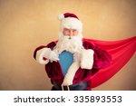 Santa Claus Superhero....