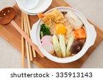 udon noodle hot pot