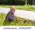 family in the fall | Shutterstock . vector #335924297