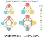 modern colorful set of... | Shutterstock .eps vector #335926397