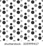 colored circle seamless pattern | Shutterstock .eps vector #335999417