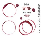 Wine Glass Or Cup Stains...