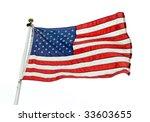 american flag   Shutterstock . vector #33603655