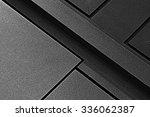 fragment of metal doors with... | Shutterstock . vector #336062387