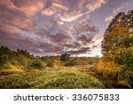 autumn landscape near...
