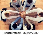 business  people  cooperation... | Shutterstock . vector #336099887