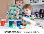 two funny little friends boys... | Shutterstock . vector #336116873