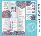 bright printable set for... | Shutterstock .eps vector #336150377