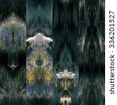 art colorful ornamental ethnic... | Shutterstock . vector #336201527