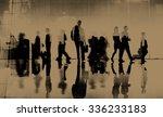 business people commuter... | Shutterstock . vector #336233183