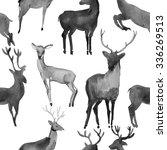 watercolor seamless pattern... | Shutterstock . vector #336269513