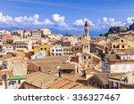 View Of The Corfu Town  Greece