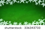 Ice Crystal Snowflakes Of...