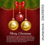 beautiful rich elegant... | Shutterstock .eps vector #336358553
