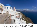 greek orthodox church with... | Shutterstock . vector #336402647