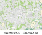 vector city map of essen ... | Shutterstock .eps vector #336406643