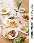 different menu tree | Shutterstock . vector #336442853
