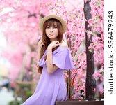 a shot of a beautiful asian... | Shutterstock . vector #336479243