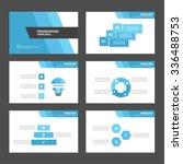 blue and black presentation... | Shutterstock .eps vector #336488753