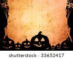 halloween abstract background | Shutterstock . vector #33652417