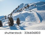 magnificent mounting skiing... | Shutterstock . vector #336606803
