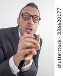 expressive corporate man... | Shutterstock . vector #336620177